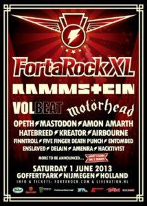 Fortarock XL 2013 Poster