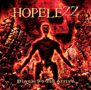 Hopelezz-BlackSoulsArrive_Albumcover
