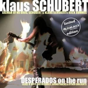 KlausSchubert-DesperadosOnTheRun_Albumcover