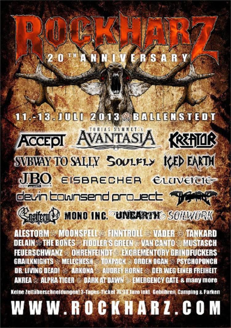 Rockharz Open Air 2013 Vom 11 07 13 07 2013 In Ballenstedt Time For Metal Das Metal Magazin