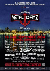 Hamburg Metal Dayz 2014 Flyer Stand 25.04