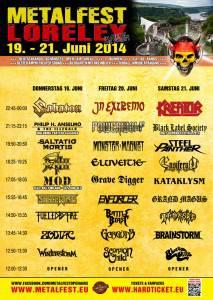 Metalfest Runningorder 2014 - Stand 28.04
