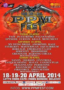 PPM 2014 - Festivalplakat