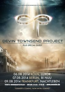 devintownsendproject tour 2014 flyer