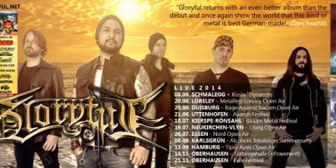 Gloryful Band Bild Juni 2014
