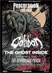 Progression Tour 2014 Caliban