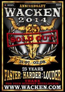 Wacken Poster 2014