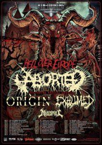 aborted tour winter 2014 November