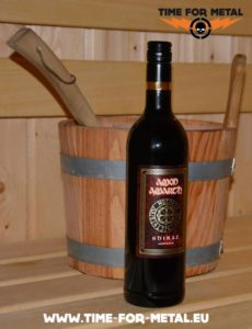 Amon Amarth Shiraz - Rotwein 20121  Leitartikel - Metaldrinks Amon Amarth Shiraz Rotwein 20121