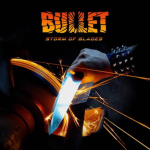 bullet - storm of blades - cover