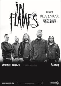 wovenwar-in-flames Tour 2014