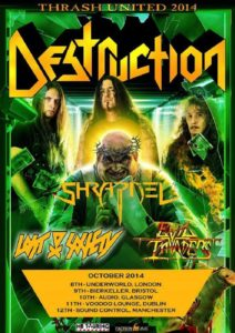 Destruction - Thrash United 2014 Tour