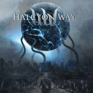 Halcyon Way - Conquer - Cover