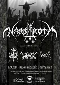 Nargaroth Oberhausen exklusiv 2014