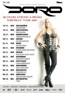 Doro - 30 Years Strong And Proud Poster