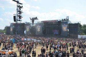 Wacken 2014 - Blick auf die beiden Hauptbühnen