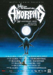 Amorphis Avatarium Tour 2014     Amorphis Avatarium Tour 2014