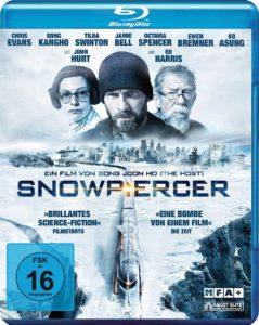 Snowpiercer Blu-Ray Front