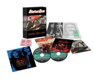 Status Quo - Live '74 – '76 (Limited Edition 4CD Boxset)