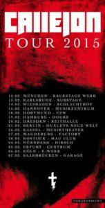 Callejon Tour 2015 Poster