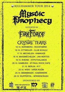 Killhammer Tour 2014 Tourplakat