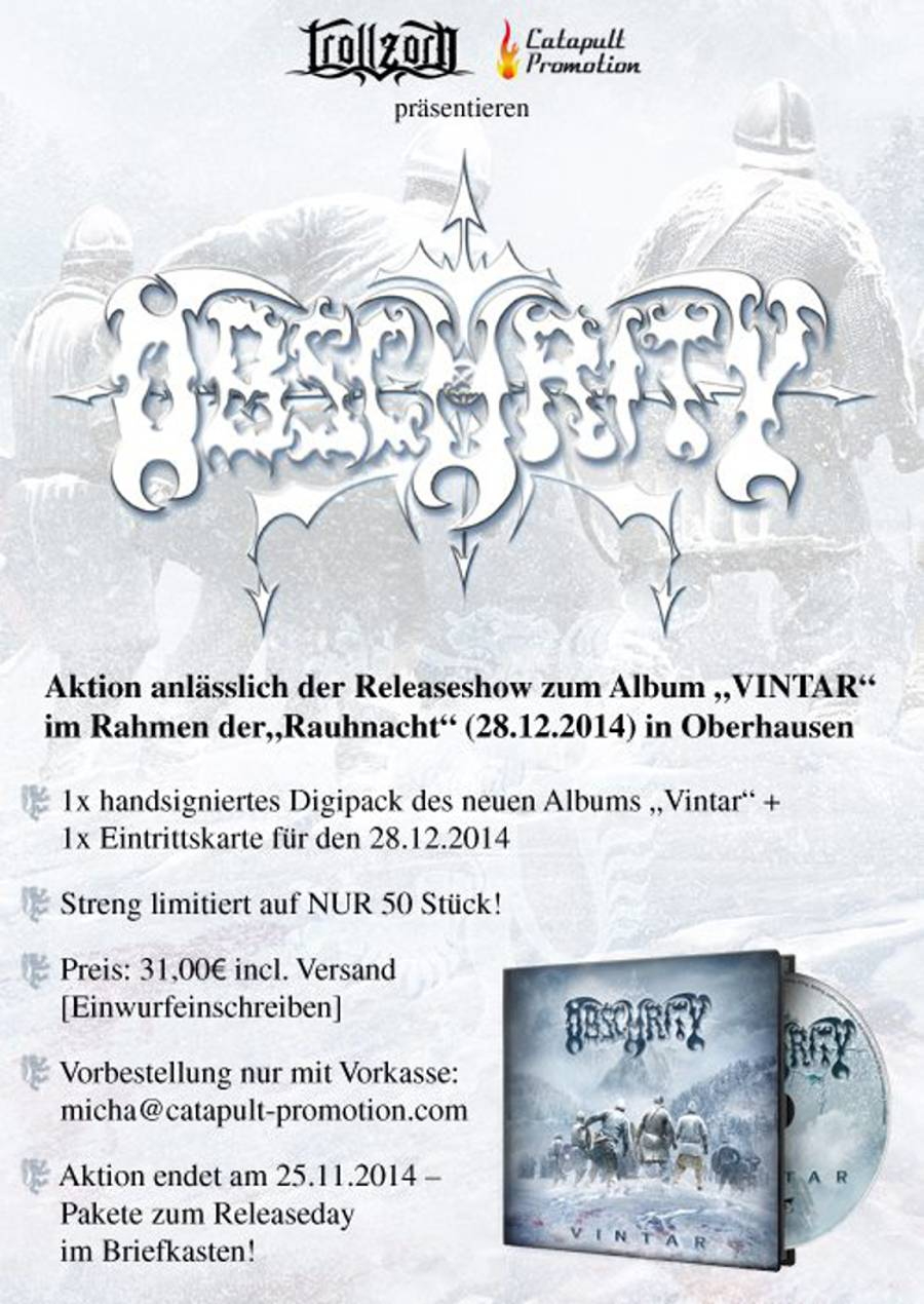 Catapult promo - obscurity vintar paket - 2014