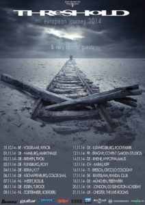 Tourplakat Threshold 2014