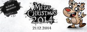 Metal Christmas 2014 Banner Stand 05.12.14