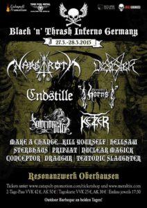 Black n Thrash Inferno Germany 2015 Stand 20.01.2015