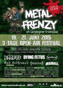 Metal Frenzy 2015 - Flyer final