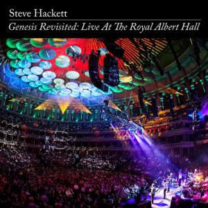 Steve Hackett - Genesis Revisited - Live At The Royal Alber Hall - Albumcover