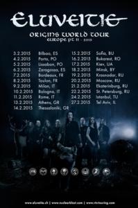 eluveitie - tour2015 februar