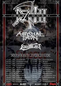 Death Tour 2015 frühjahr Flyer