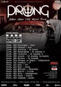 Prong Tour 2015 Flyer