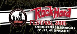 Rock Hard Festival 2015 Werbe Banner März 2015