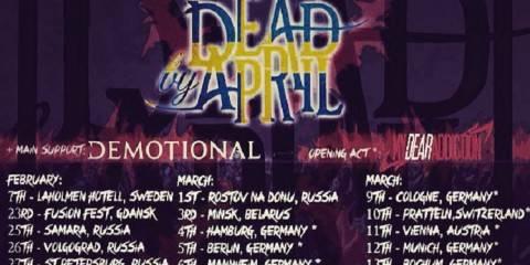 Tourplakat Dead By April