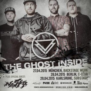 the gost inside april 2015 tour flyer