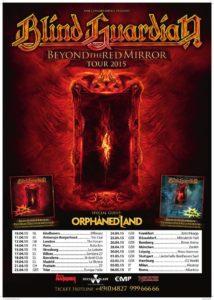 Blind Guardian Tour 2015