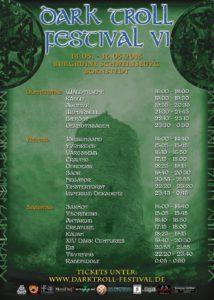 Drak Troll Festival 2015 - Running Order
