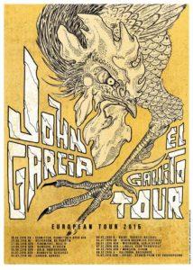 John Garcia Tour 2015 Juni