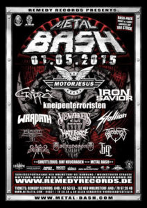 Metal Bash 2015 Flyer 09.04 Stand