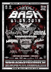 Metal Bash 2015 Flyer 09.04 Stand