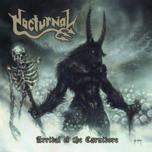 nocturnal - Arrival Of The Carnivore - Albumcover