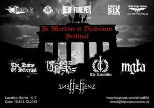 De Mortem Et Diabolum Festival 2015 - Stand 29.05