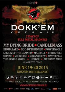 Dokk em Open Air Flyer Stand 03.05.15