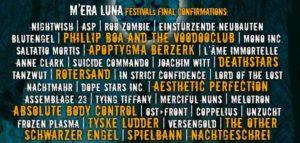 Festivalplakat Mera Luna 2015