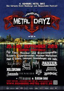 Hamburg Metal Dayz 2015 Stand 29.05.2015