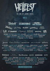 Hellfest 2015 Flyer Stand 04.05.15