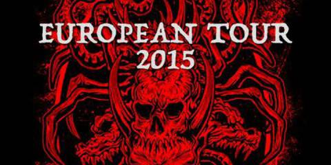 Nervecell Europa Tour Juni 2015 Flyer