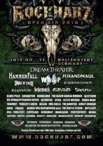 ROCKHARZ OPEN AIR 2015 Flyer Stand 29.05